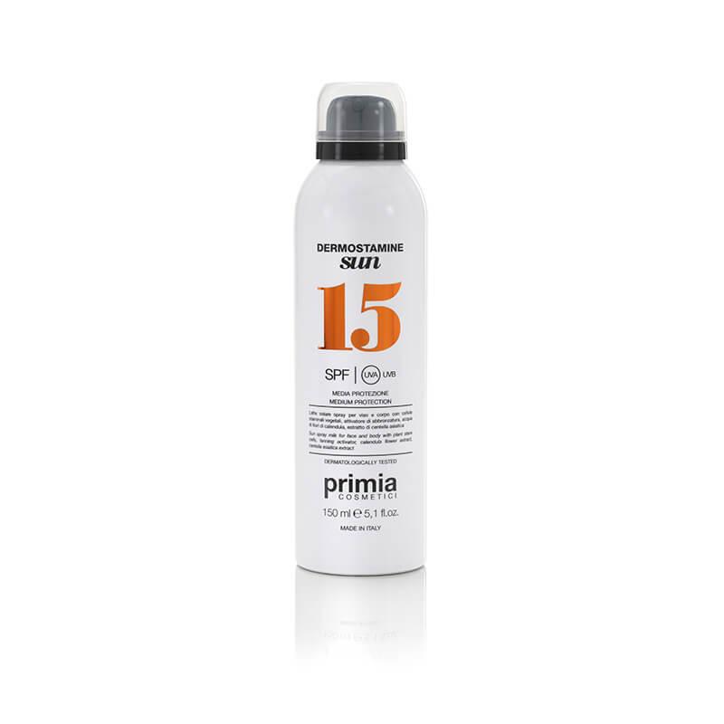 Dermostamine Sun Mleko za sunčanje u spreju SPF 15